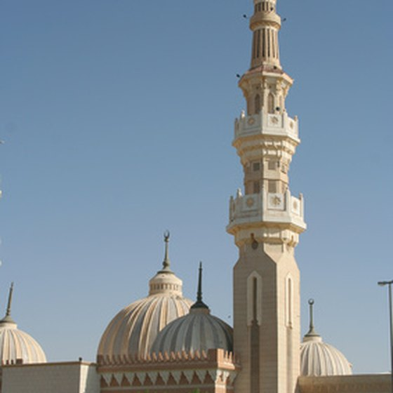 A mosque is important to the culture in Saudi Arabia.