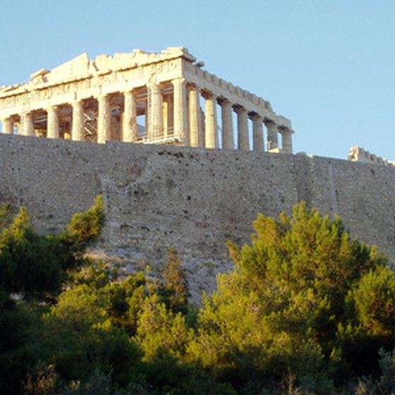 Thousands of tourists flock to Athens each year.