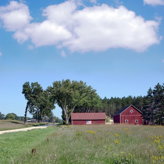 "Wisconsin's abundance of farms has earned it the nickname, the ""Dairy State."""