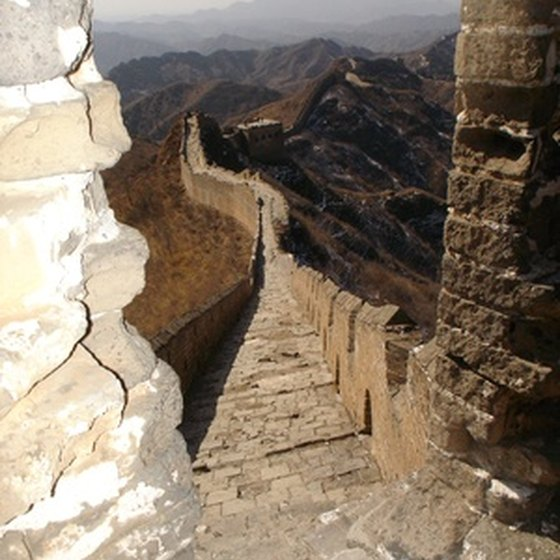 Biking on the Great Wall of China is an experience for adventurous travelers.