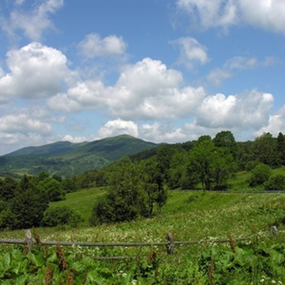 The Catskills cover a six county-wide area in New York state.
