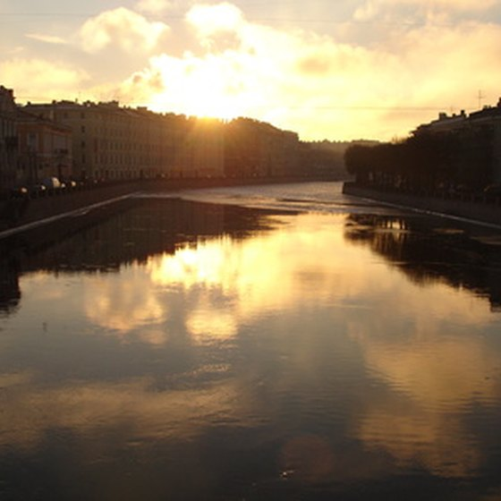 St. Petersburg can be an exciting and beautiful place to visit.