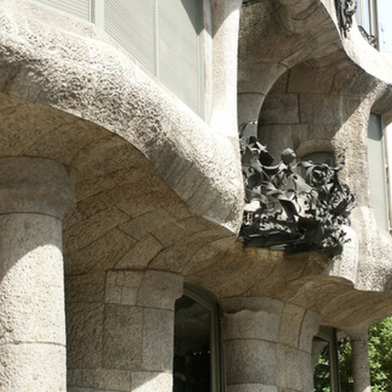 Gaudí's unusual designs attract archicture buffs to vacation in Spain.