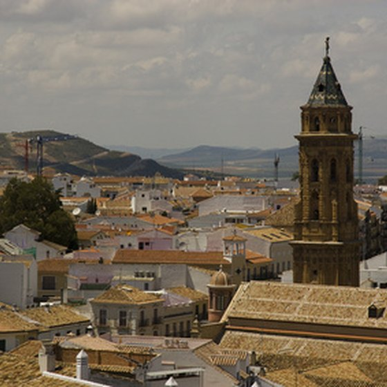 A typical Spanish town