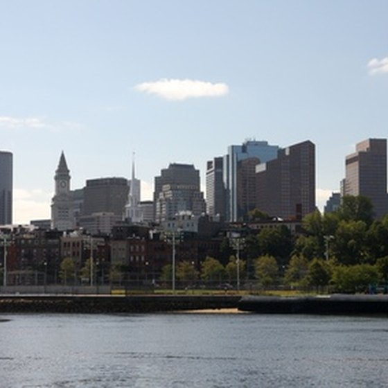 The Boston skyline can be enjoyed without a big hit to the wallet.