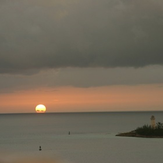 Nassau sunsets cap active days of all-inclusive vacations in the Bahamas.