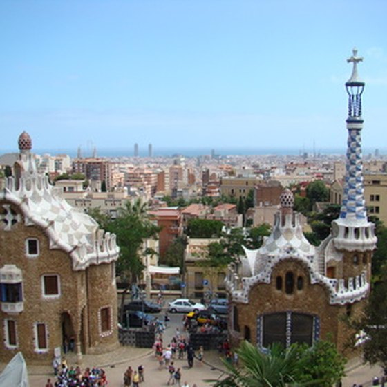 Park Guell is just one of the architectural masterpieces you'll find in Barcelona.