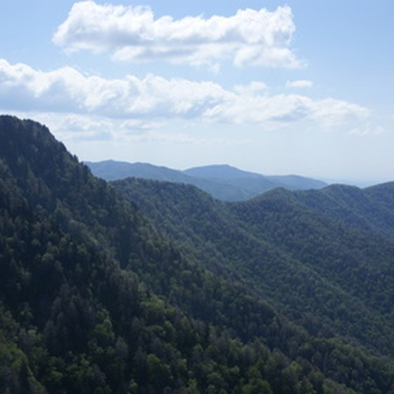 Tennessee's side of the Smoky Mountains offers views and attractions.
