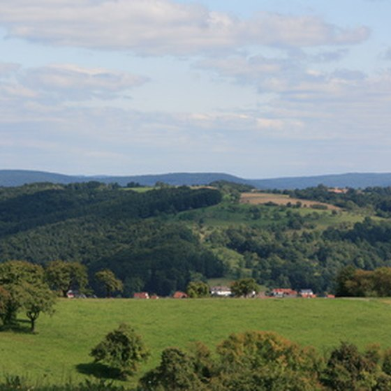Franconia is a popular destination for German walking tours.