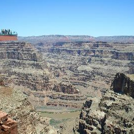 The Skywalk at Grand Canyon's West Rim