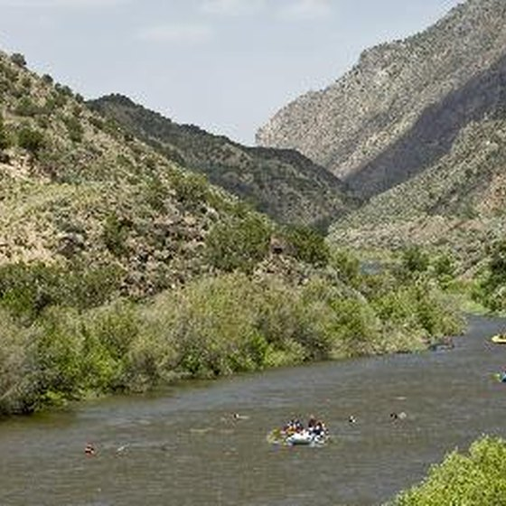 Big Bend National Park is a popular launch spot for rafting trips along the Rio Grande.