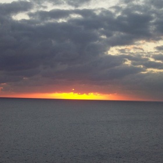Stunning sunsets are just part of the experience on a Caribbean cruise