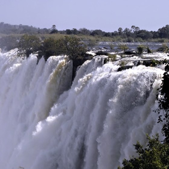 Victoria Falls are at their most impressive from February to June.