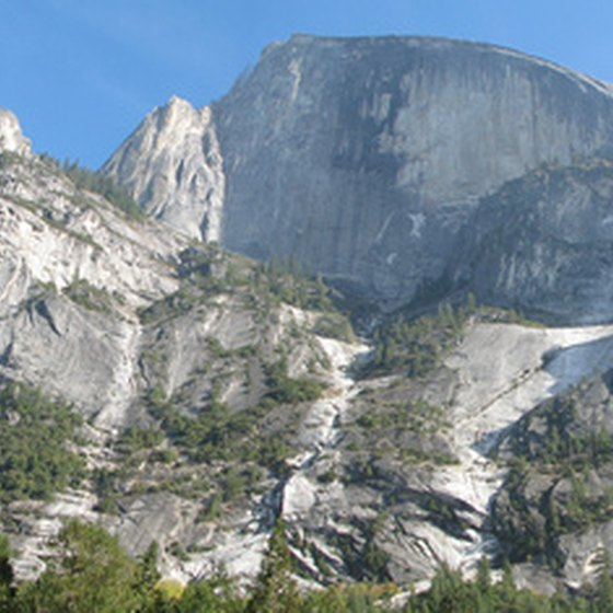 Yosemite is one backpacking destination in the Sierra Nevada.