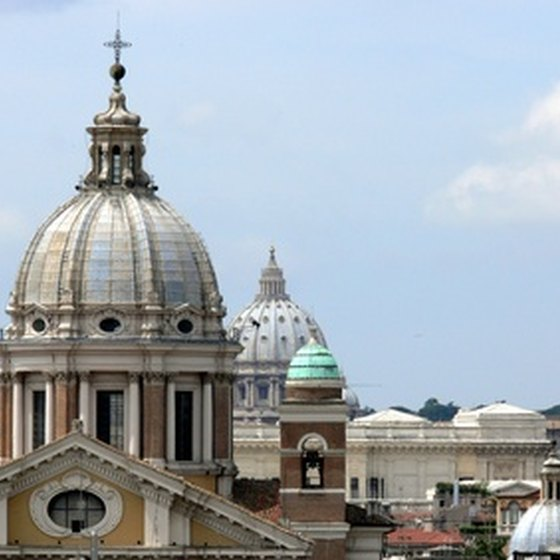 Vatican City lies in the center of Rome.