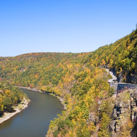 The Delaware River, one of the biggest on the East Coast, is popular for kayak tours.