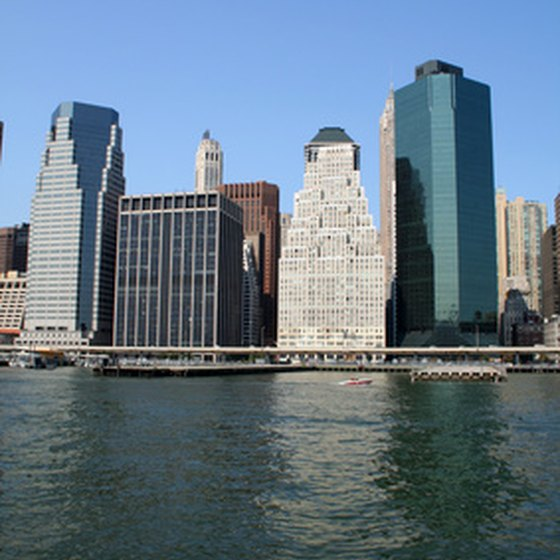 New York City, home to several famous hotels.