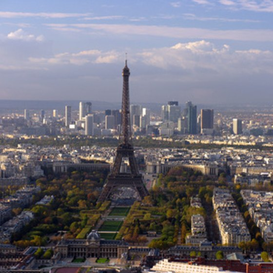 A view of Paris, France