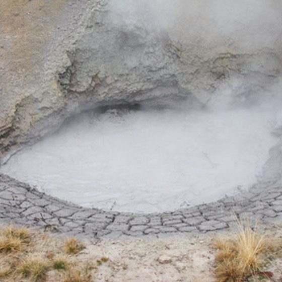 Yellowstone is known for its hot springs.