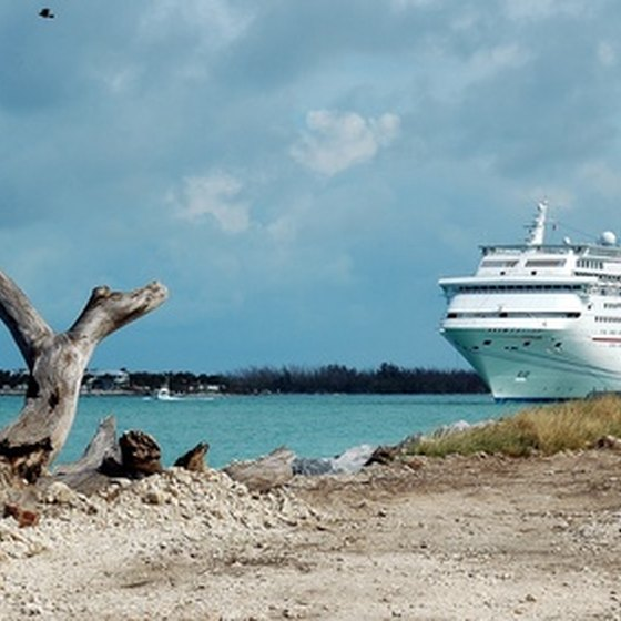Cruise liners visit a number of destinations around the world.