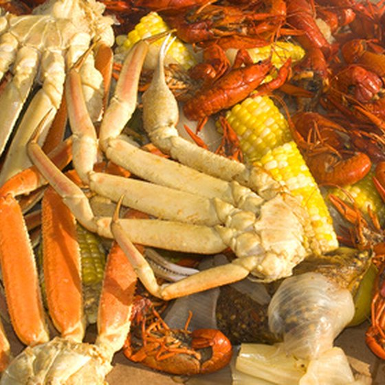 Seafood restaurants near Dallas, Ga. offer fresh water and ocean fish selections.