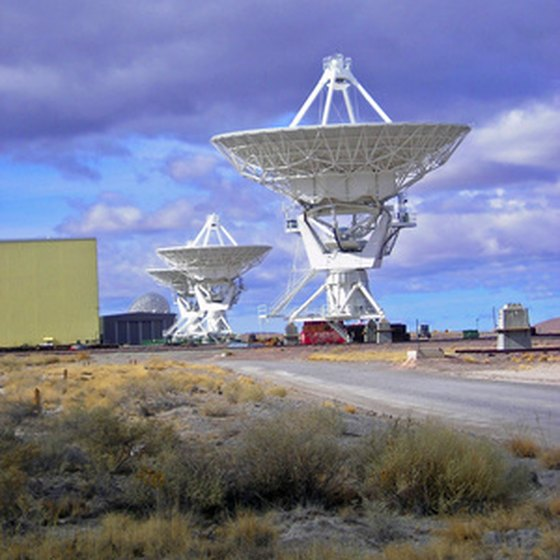 The Very Large Array is located in New Mexico