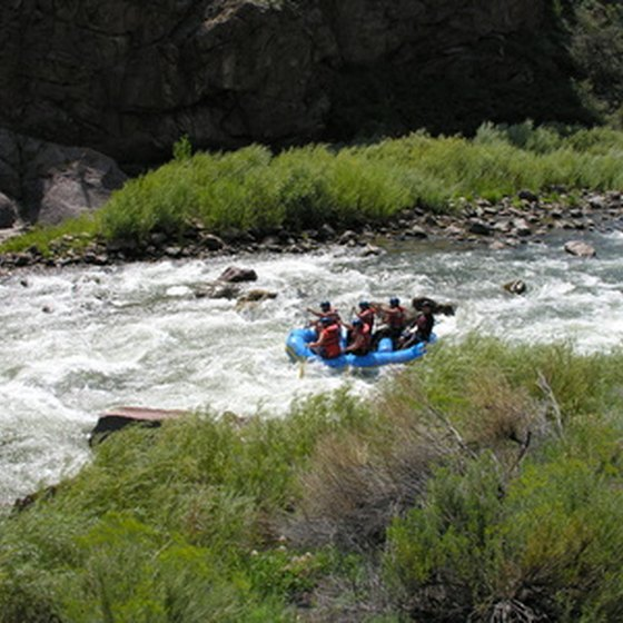 Rafters Hit the Rapids