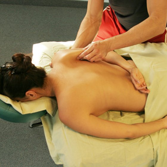 Massage Therapy is available at several health spas in Charlotte, North Carolina.