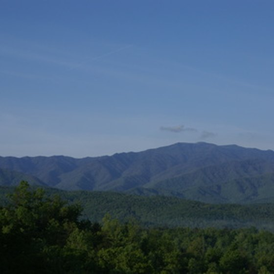 Gatlinburg, TN is located in the heart of the Smoky Mountains.