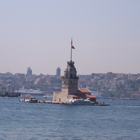 Istanbul's Maiden's Tower is a shore excursion destination.