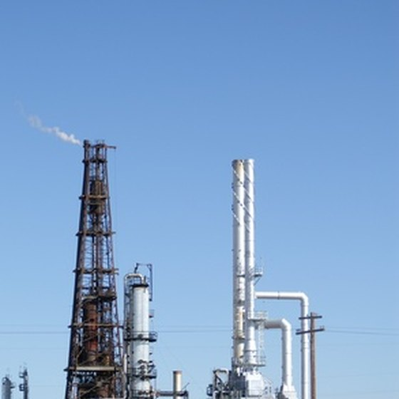 The Goldsmith, Texas, area was made famous because of its abundance of oil