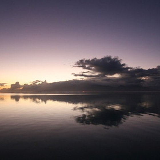 Sunrise over Tahiti