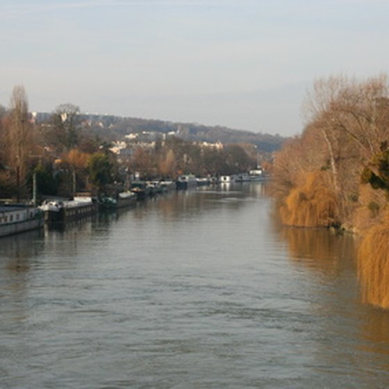 River barges provide unparalleled sightseeing opportunities along the Seine.
