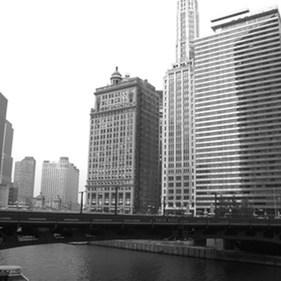 Downtown Chicago features a wide variety of hotels.