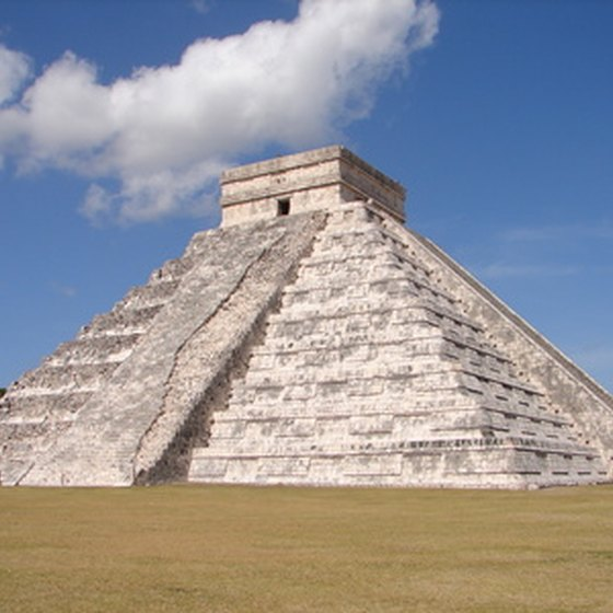 The Pyramid of Kukulcan at Chichen Itza