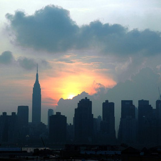 Manhattan's skyline is one of the most famous skylines in the world.