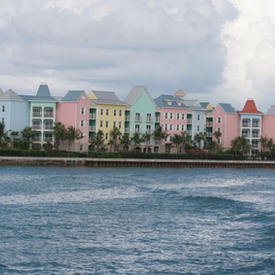 "The Bahamas is comprised of 29 main islands and hundreds of smaller land masses known as ""cays."""