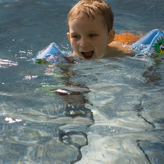 The area around Hope, Idaho offers healthy outdoor activities, including swimming.