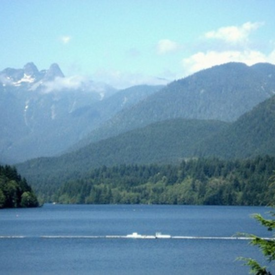 An iconic view of the Pacific Northwest, this one near Vancouver.