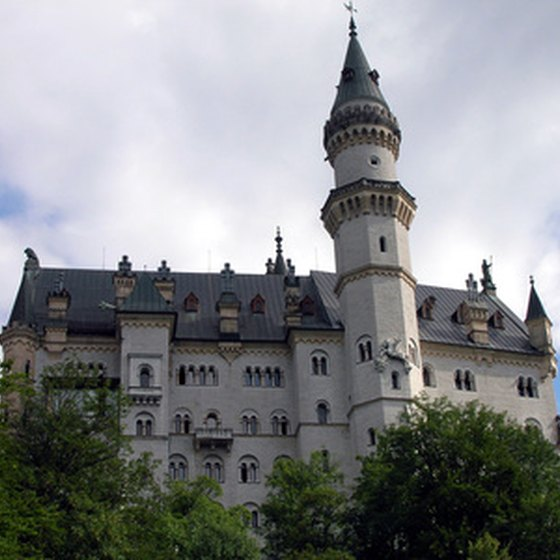 Neuschwanstein Castle, Germany's most-visited building.