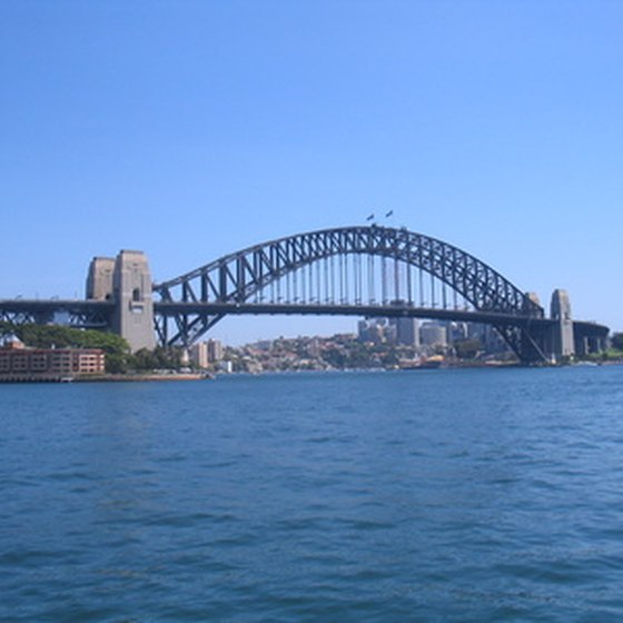 Sydney is a stop on Silversea Cruises' World Cruise.
