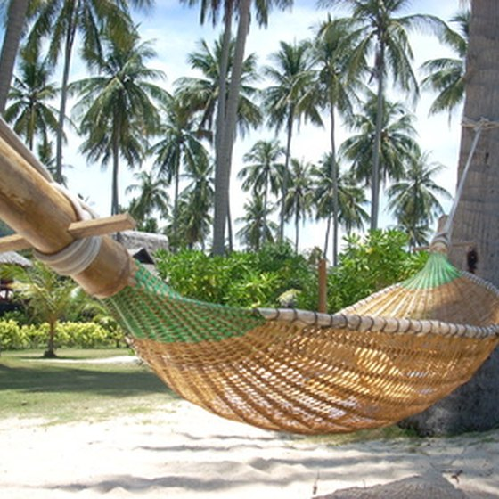 Many accommodations provide hammocks on the property.