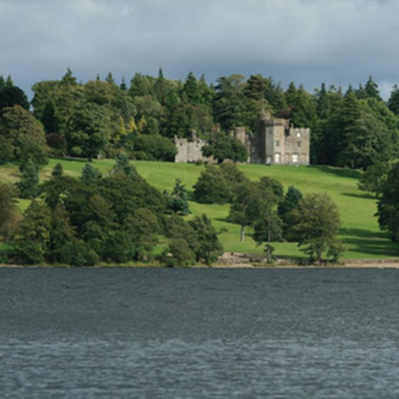 Scotland's lochs and castles are two appealing features.