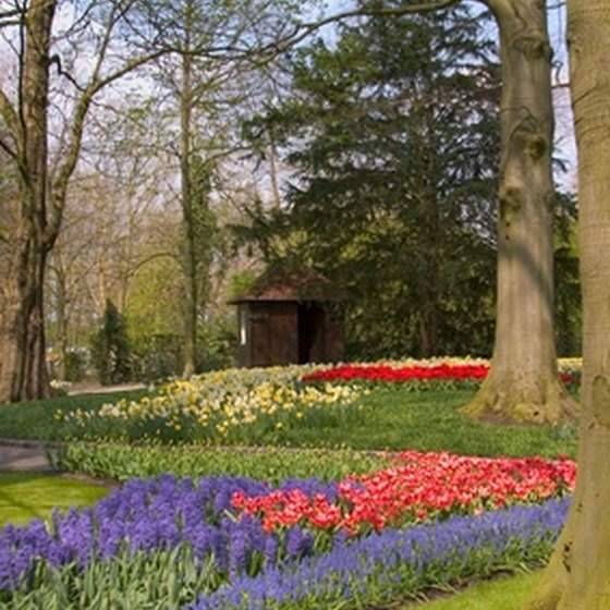 "Keukenhof Gardens are in south Holland's ""dune and blub\"" area."