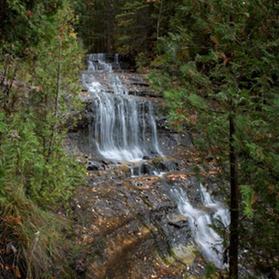 More than 70 waterfalls are located in and around Ironwood.