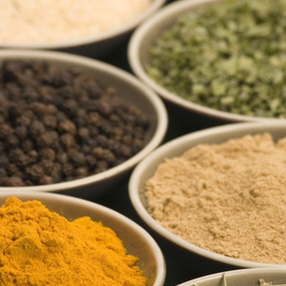 Spices characterize dozens of Indian dishes.