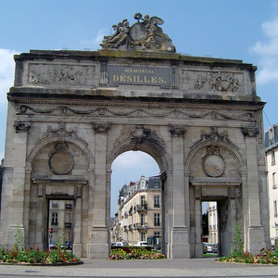 The Arc de Triomphe in Stanislas Square