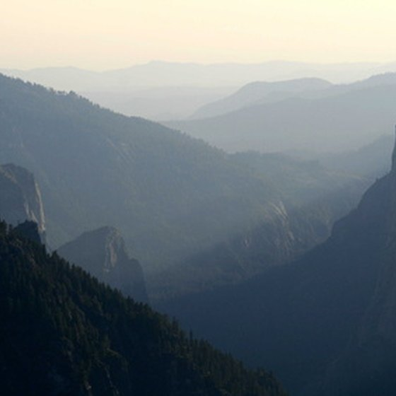 Hiking in Yosemite is a great wilderness adventure.