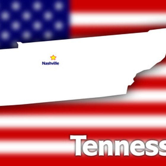 Tennessee is divided into three regions: East, Middle and West.