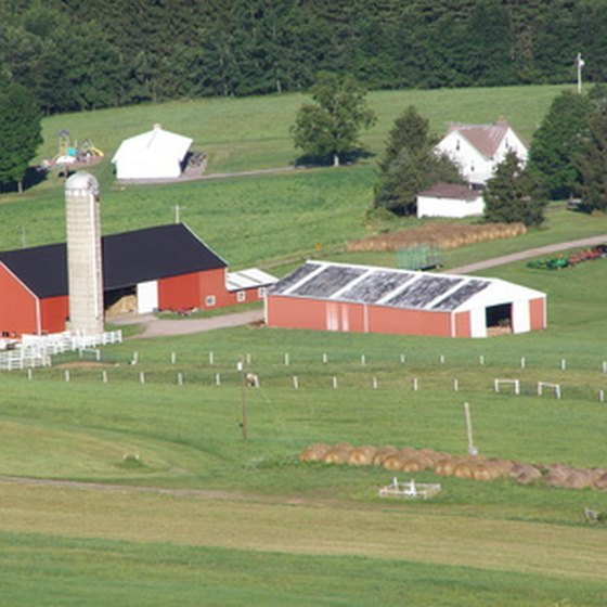 Well-kept farms are just one of the many sights you may see while exploring Pennsylvania.